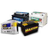 Baterias automotiva 60 amperes Buraco Quente