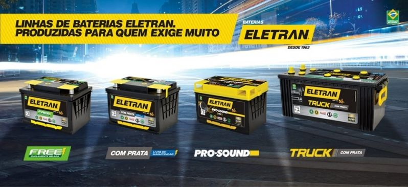 Vendas de Bateria Automotiva na Floresta - Bateria Automotiva 60 Amperes